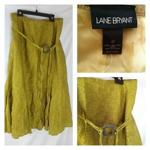 Long mermaid fit flare skirt godet linen skirt 22